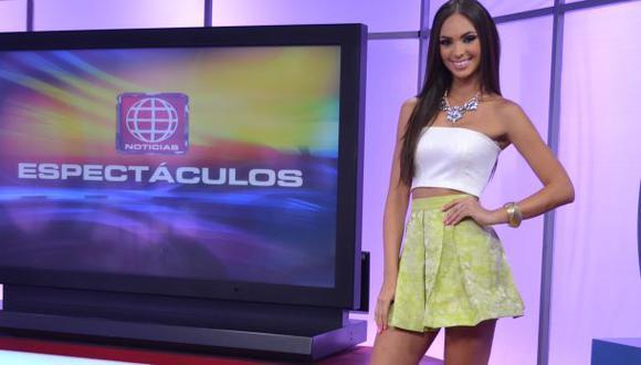 Natalie Vértiz debutó como conductora de espectáculos
