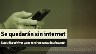 Apagón de internet: Desde el 30 de setiembre estos dispositivos perderán conexión a internet