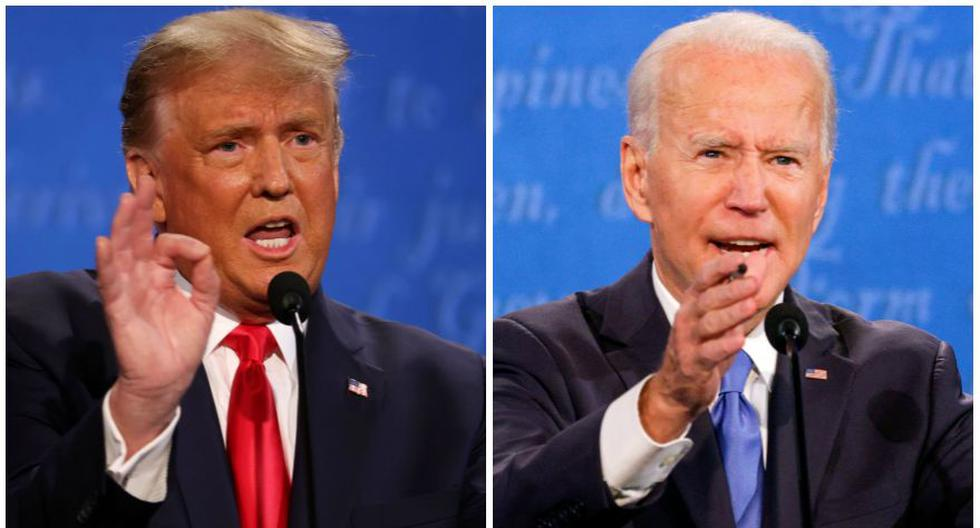 Donald Trump y Joe Biden disputarán la presidencia de Estados Unidos en las elecciones del 3 de noviembre. (Foto: AFP / Reuters)