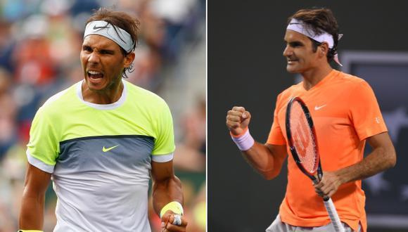 Indian Wells: Roger Federer y Rafael Nadal en octavos de final