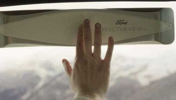 Feel The View fue concebido y desarrollado por Ford Italia y GTB Roma en colaboración con Aedo, una start-up italiana. (Foto: Difusión)