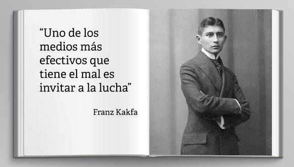 Franz Kafka falleció el 3 de junio de 1924, a los 40 años. (Wikipedia)