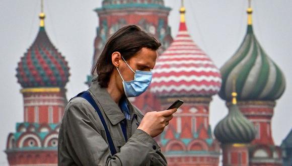 Coronavirus en Rusia | Últimas noticias | Último minuto: reporte de infectados y muertos jueves 15 de octubre del 2020 | (Foto: Yuri KADOBNOV / AFP).