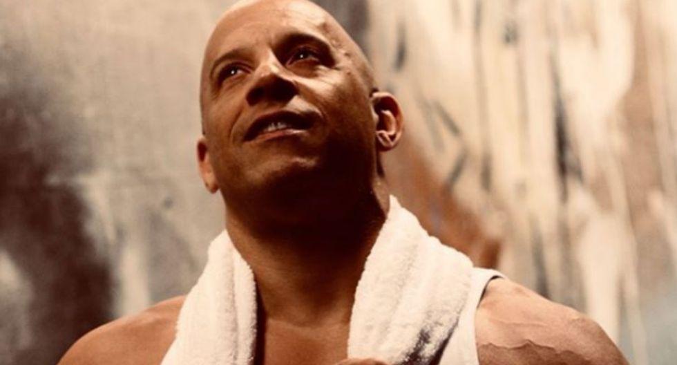 El actor decidió hacer su propia versión de la obra, utilizando su magnífico cuerpo. (Foto: Instagram/ Vin Diesel)