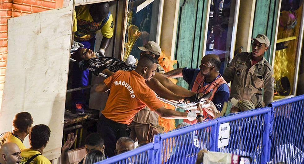 Carnaval de Río: La segunda tragedia en dos días [FOTOS] - 10