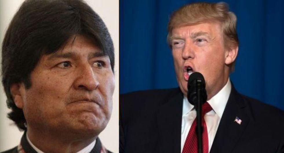 """Evo acusa a EE.UU. de planear el """"derrocamiento"""" de Maduro"""