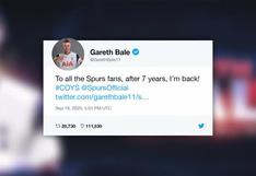 Tottenham anuncia la llegada de Gareth Bale y Sergio Reguilón