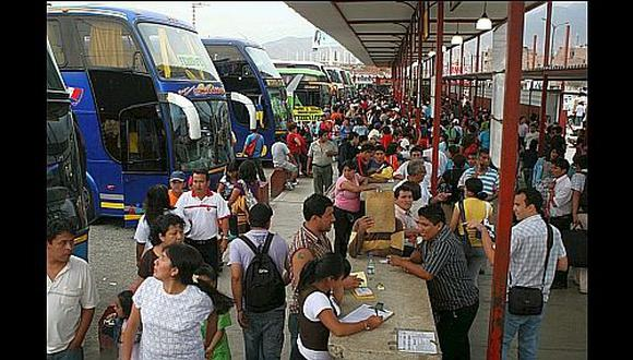 Navidad: pasajes de buses en terminales terrestres se elevan