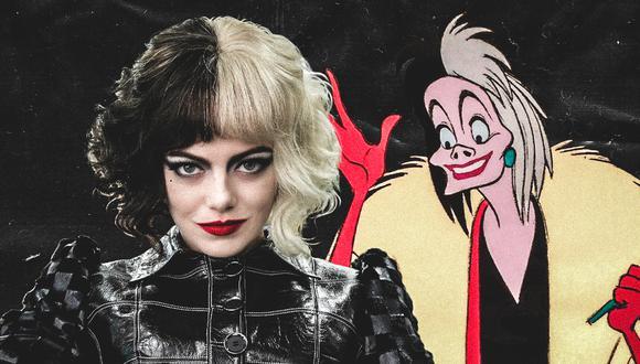 """""""Cruella"""" es una de las películas más esperadas del 2021. (Diseño: El Comercio)"""