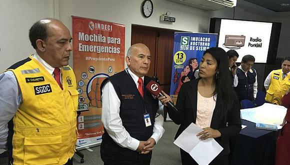 Vicealmirante Alberto Lozada renuncia a jefatura de Indeci