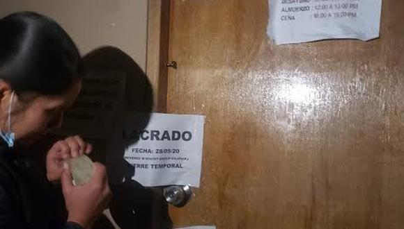 Los ambientes de la Policía Judicial de las sedes de Puno y Juliaca fueron cerrados temporalmente para evitar contagios. (Foto: PNP).