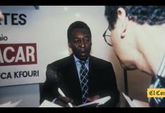 Mario Fernández, el periodista de El Comercio que se las ingenió para entrevistar a Pelé y a Maradona