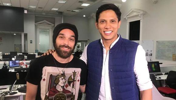 """André Salas y André Silva, actores de """"Misterio, una pasión"""". (Foto: archivo El Comercio)"""