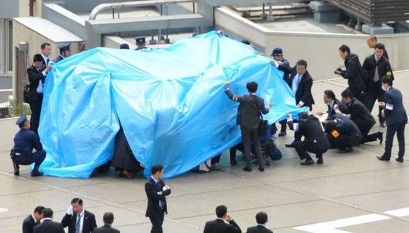 Un dron radiactivo aterrizó en casa del primer ministro japonés