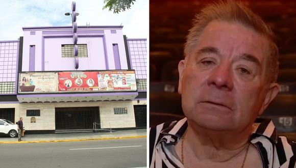 Efraín Aguilar cuenta que cerrará el Teatro Canout debido a la pandemia de coronavirus. (Foto: Archivo GEC/ Captura de América TV).