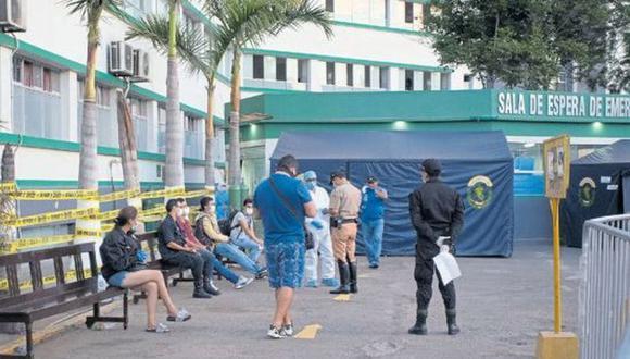 La familia del comandante tendrá que esperar 72 horas para saber si su cuerpo será incinerado. (Foto: Alonso Chero)