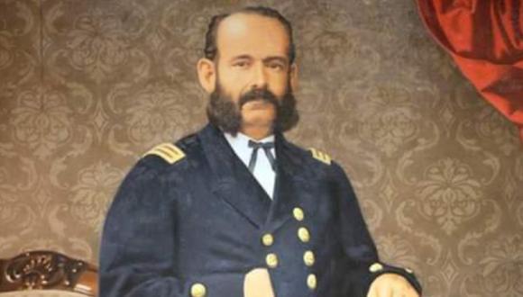 Don Miguel Grau Seminario, máximo héroe de la Marina de Guerra del Perú, nació un 27 de julio de 1834 en Paita, Piura | Imagen: @naval_peru