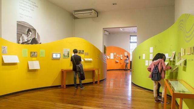 La muestra se presentó en la Casa de la Literatura Peruana del 24 de setiembre al 15 de marzo.(FOTO: Casa de la Literatura).