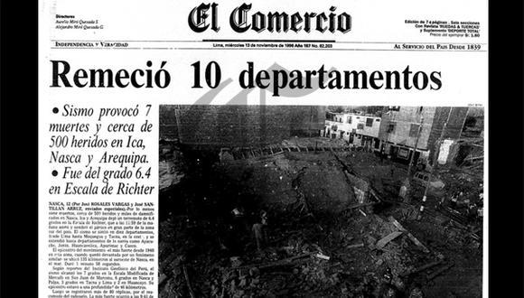 Así Ocurrió: En 1996 sismo sacude el sur del país