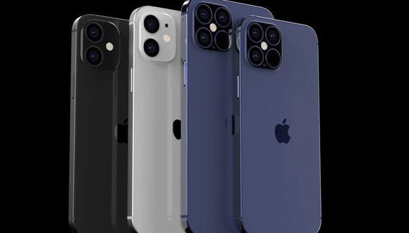 Así lucen los nuevos iPhone 12 según una renderización que hizo el canal de YouTube EverythingApplePro en base a diversos reportes y filtraciones. (Foto: EverythingApplePro)