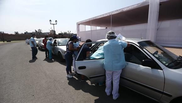 Siguen apareciendo más casos sobre uso de jeringas vacías en la vacunación contra el COVID-19. (Foto: Jesus Saucedo/ @photo.gec)