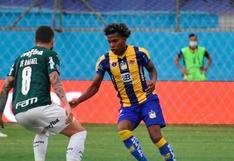Delfín perdió 3-1 ante Palmeiras en Manta por Copa Libertadores
