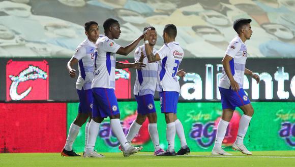 Cruz Azul es líder de la Liga MX. (Foto: @CruzAzulCD).