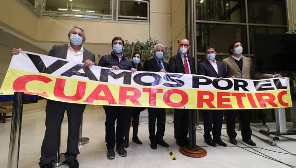 El Congreso de Chile continúa evaluando un cuarto retiro de AFP para ayudar a las familias chilenas. (Foto: Agencia Uno)