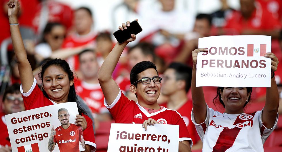 Internacional vs. U. de Chile: con Paolo Guerrero, las mejores postales del partido de Copa Libertadores. (Foto: Agencias)