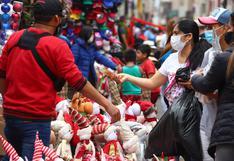 Navidad: recomendaciones del Minsa para prevenir contagios de COVID-19 en compras de fin de año