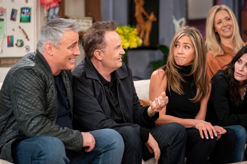 """El elenco original de """"Friends"""" se reunió para un programa en especial. Además de anécdotas, bloopers e invitados especiales, el especial de TV sirvió para que los actores recuerden detalles poco conocidos de algunos capítulos memorables. ¿Qué dijeron? Te lo contamos a continuación. (Foto: HBO Max)"""