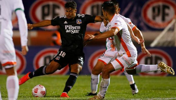Colo Colo consiguió su primer triunfo en el Campeonato Nacional con doblete de Iván Morales   Foto: @colocolo