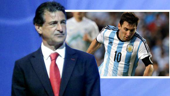 """Mario Kempes: """"Messi es un fenómero, hará las cosas decisivas"""""""