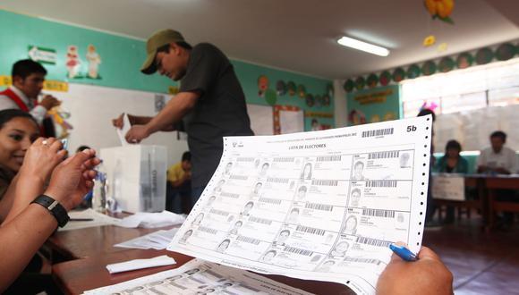 Existen diversas propuestas alrededor de las elecciones del 2021 por la pandemia del COVID-19. (Foto: GEC)