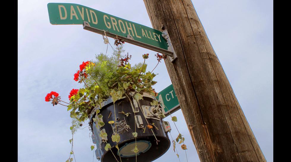 Conoce la calle dedicada a Dave Grohl, líder de Foo Fighters  - 3