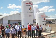 MTC entrega medicamentos e instala tanques de oxígeno en la región Amazonas