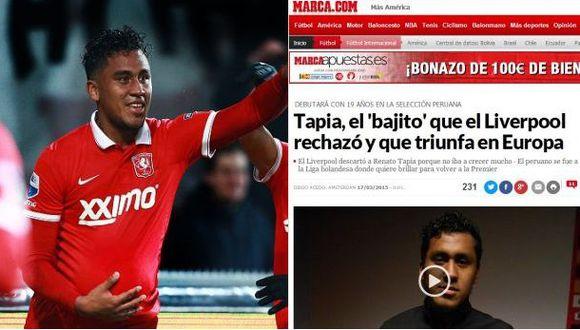 Renato Tapia confesó que Liverpool lo marginó por su estatura