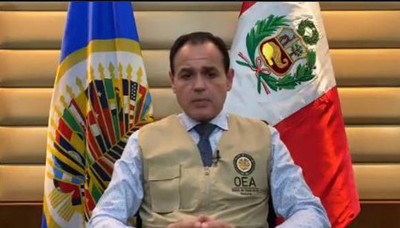 """El diplomático paraguayo Rubén Ramírez dijo esperar que los candidatos mantengan una """"actitud democrática"""" y que las eventuales disconformidades se diriman por las vías legales. (Foto: captura de video)"""