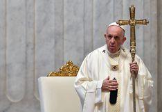 Papa Francisco recuerda a los sacerdotes muertos por el coronavirus en la misa de Jueves Santo