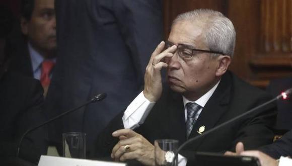 Pedro Chávarry renunció al cargo de fiscal de la Nación en enero del 2019. (Foto: GEC)