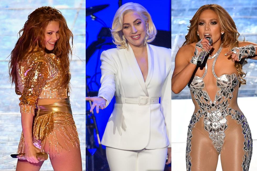 Super Bowl. A propósito de las palabras de Lady Gaga para Jennifer López, Shakira repasamos casos que prueban que usar pista no desmerece el talento de un artista. (Foto: Agencias)