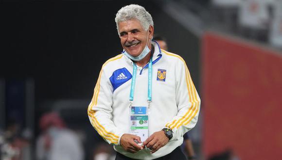 Hincha de Tigres fue sacado del estadio: afición cree que el Tuca Ferreti lo mandó a sacar. (Foto: AFP)