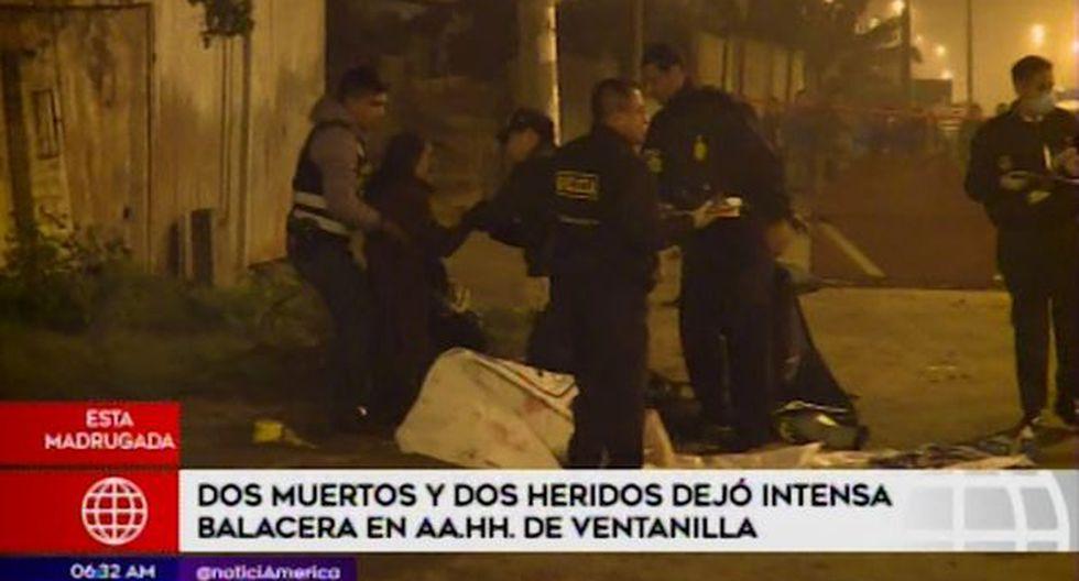 Entre las pertenencias de una de las víctimas se encontró un arma. (Captura: América Noticias)