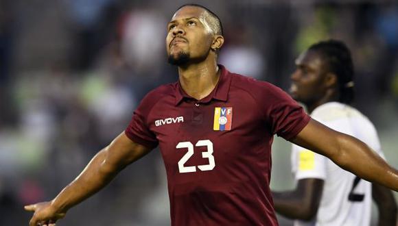 Salomón Rondón es el máximo goleador de la historia de Venezuela. (Foto: AFP)