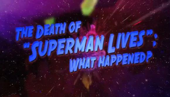 Nuevo tráiler del documental sobre película perdida de Superman