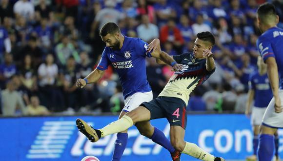 Las 'Águilas' del América se enfrentan este martes a Cruz Azul (9:00 p.m. EN VIVO ONLINE), en el Estadio Azteca. (Foto: EFE)