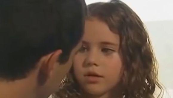 """Loli durante su intervención en """"Rebelde"""". En esta escena ella tenía nueve años (Foto: Televisa)"""