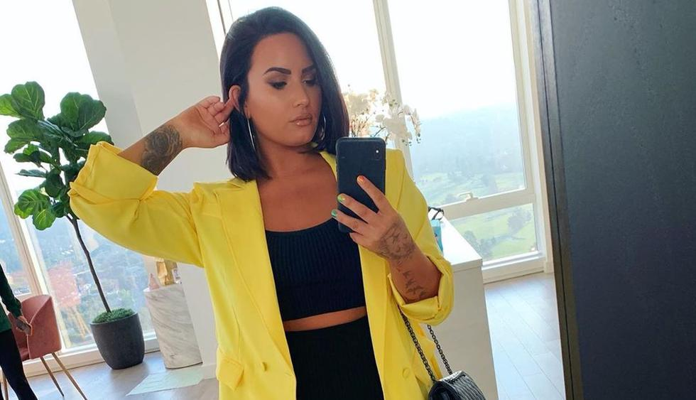 Demi Lovato renovó su look e impone una nueva tendencia con el cabello verde. (Foto: @ddlovato)