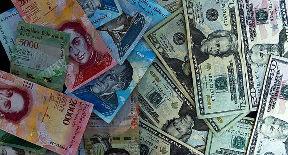 El precio del dólar alcanzaba los 11.185,04 bolívares soberanos este jueves. (Foto: AFP)