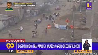 Ataque a grupo de obreros cobra la vida de dos personas en Ventanilla